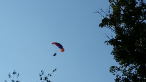 motorized parachute