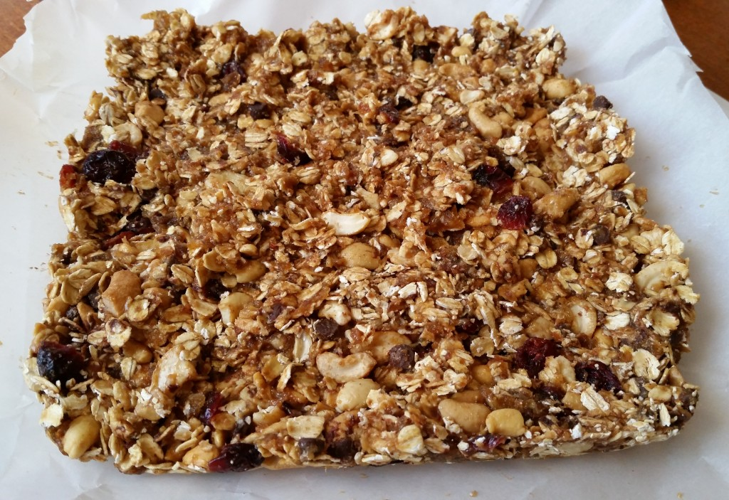 granola bar slab