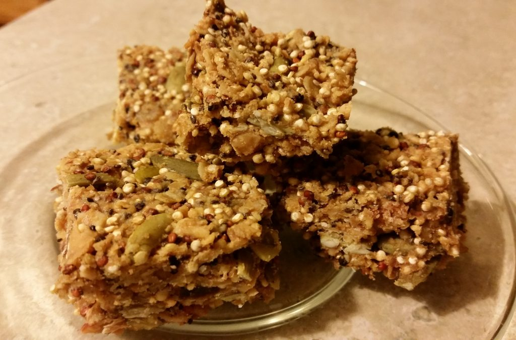 finished quinoa bars II